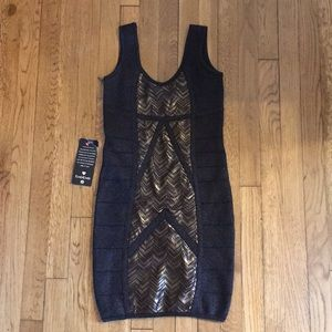 Bebe small bodycon dress